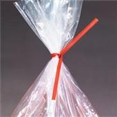 8″x3/16″ Red Paper Twist Ties (1000/bag) $11.45/piece