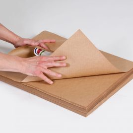 18×24″ 60# Indented Kraft Paper Sheets (25#/Bundle) $31.08/piece
