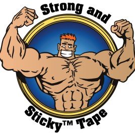 3″x1000 yds. 1.9 Mil Strong and Sticky™ Clear Acrylic Carton Sealing Tape (4/Case) $77.37/piece