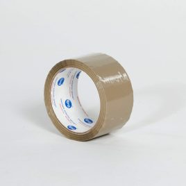 2″x55 yds. 1.6 Mil Utility Grade Tan Hot Melt Carton Sealing Tape (36/Case) $49.63/piece