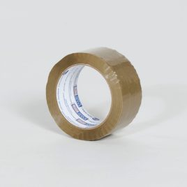 2″x110 yds. 1.6 Mil Utility Grade Tan Hot Melt Carton Sealing Tape (36/Case) $61.67/piece