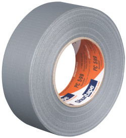 3″x60 yds. (72mmx55m) 9 Mil Silver Cloth Duct Tape (16/Case) $152.49/piece
