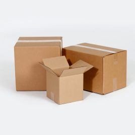 12 3/4×6 3/8×13 1/2  32ECT Master Carton holds 4-Pack of 6x6x6 Boxes Buy the Bale for $0.61/piece