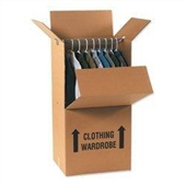 Wardrobe Box Printed  23 3/4×20 1/2×46 1/8  350# / 51 ECT DW Printed Room Locator Check-Off Box Buy the Bale for $11.29/piece