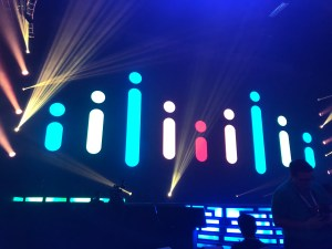 Cisco Logo at the beginning of the keynote.