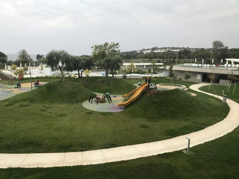 Family hotel amarin playground in Croatia