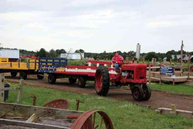 Cox Farms Tractor Hayride