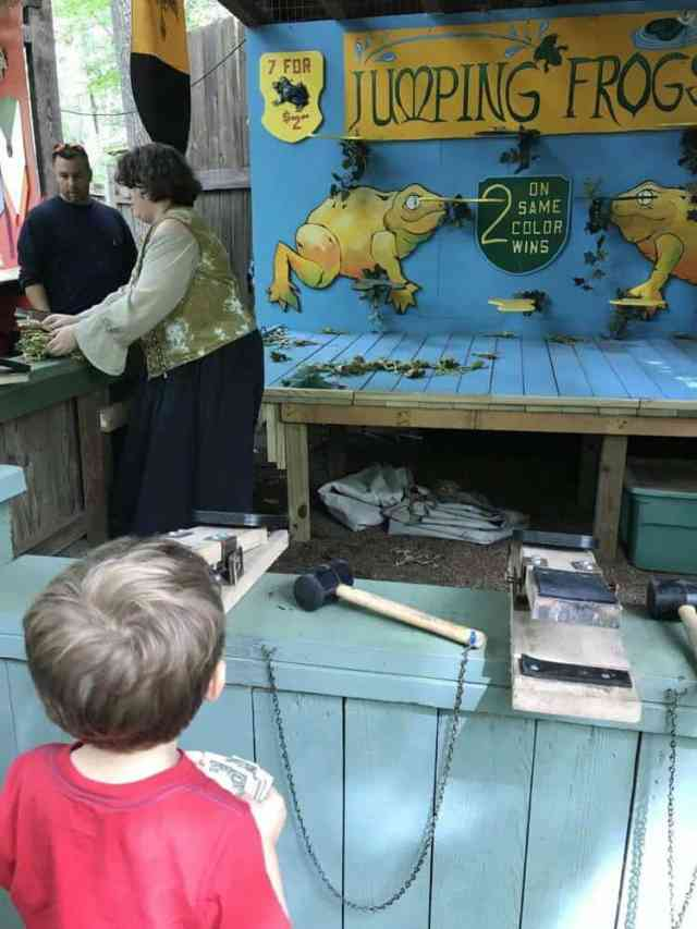 maryland renaissance festival child friendly games