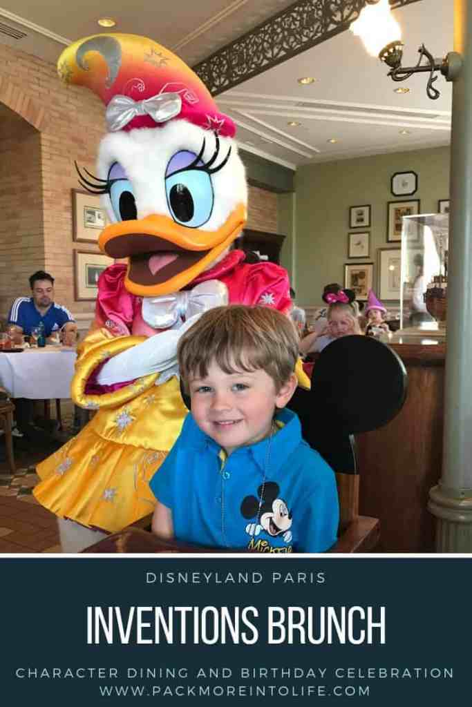 Inventions Brunch DIsneyland Paris