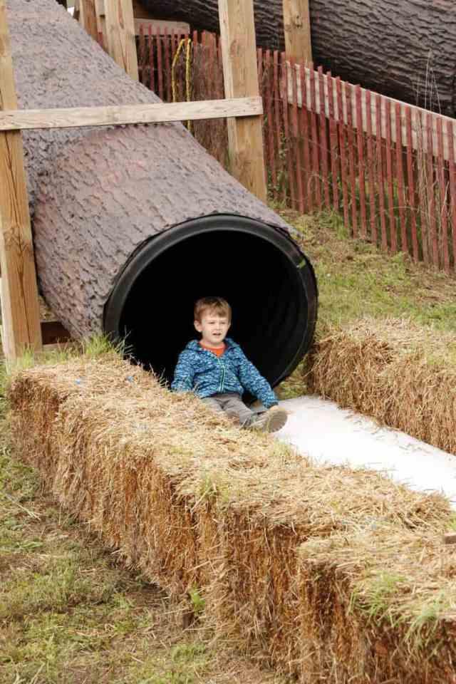Cox Farms Tunnel Slide
