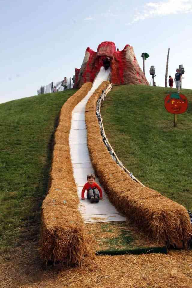 Cox Farms Volcano Slide