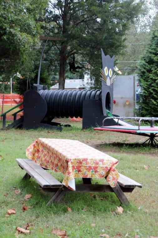 Burke Nursery Pumpkin Playground Picnic