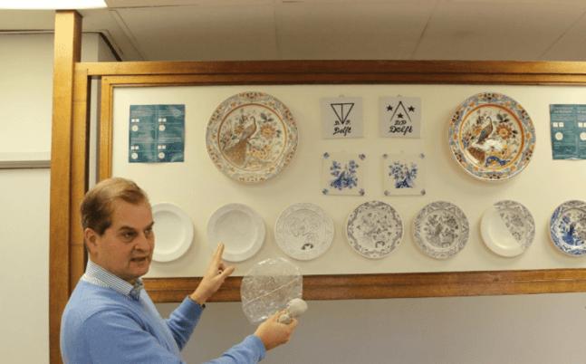 Royal Blue Delft Factory Tour