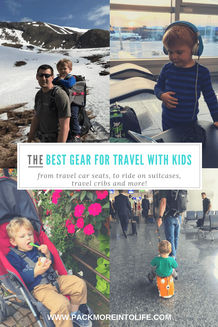 Best Gear for Travel with Kids