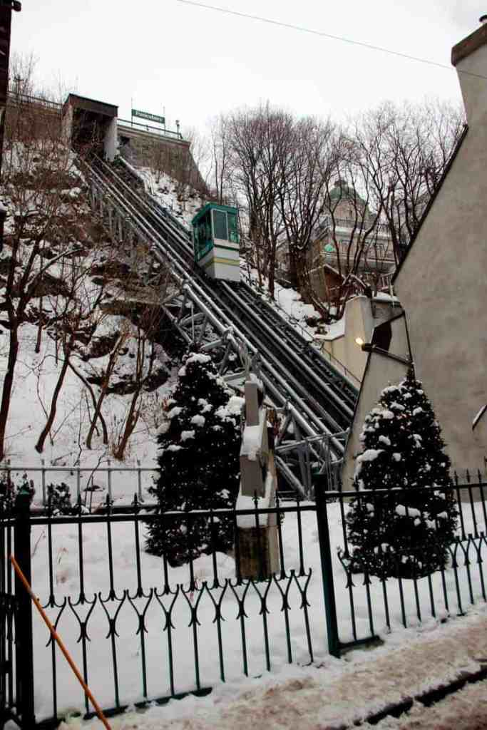 Funicular in Old Quebec City
