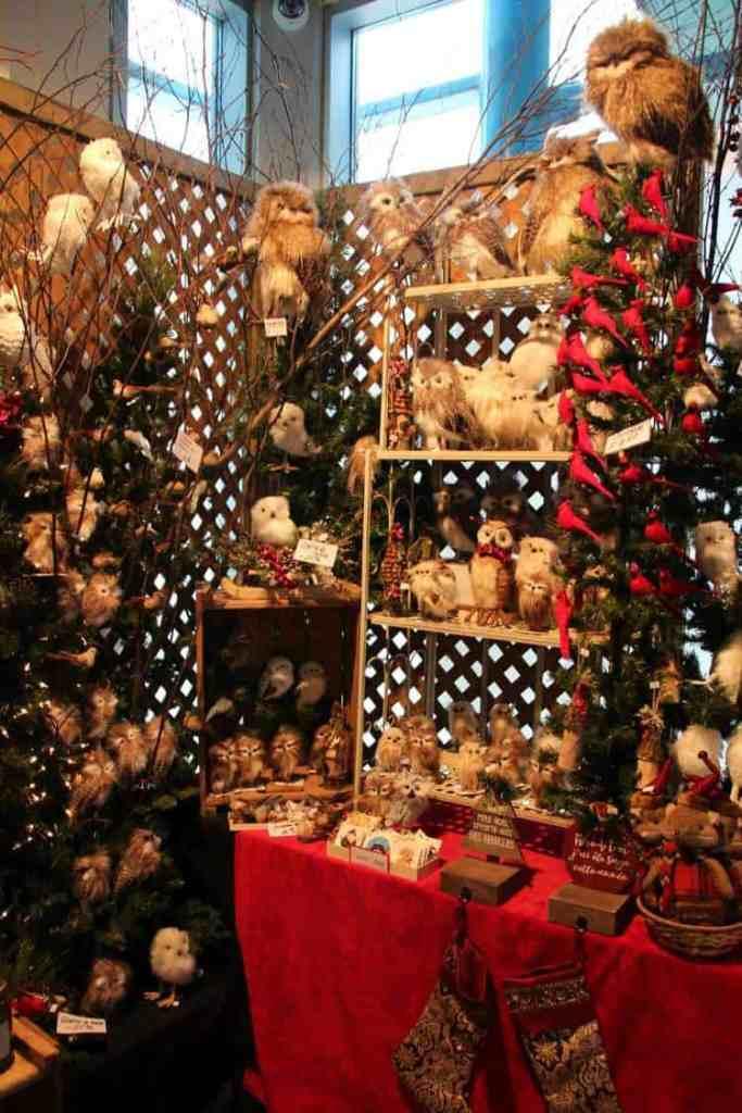 Market Old Port of Quebec Christmas season