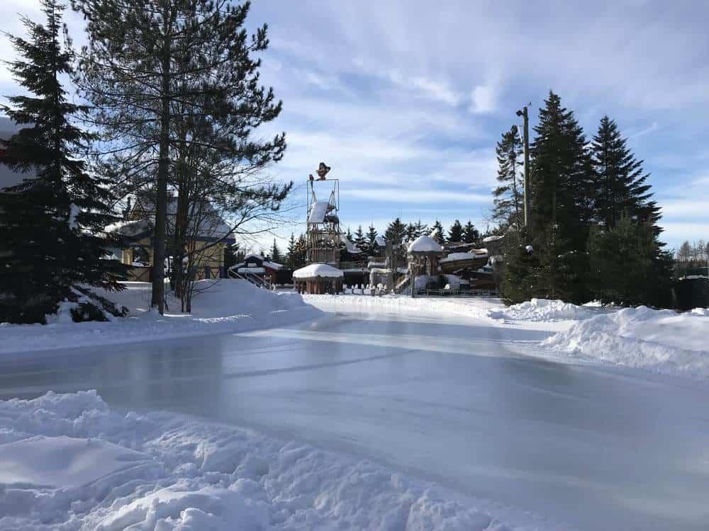 Village Vacances Valcartier Quebec, Canada Ice Skating