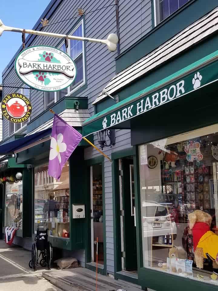 Bark Harbor in Bar Harbor Maine