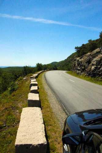 Loop Road in Acadia National Park