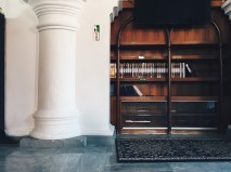 Inside the Kapitan Keling Mosque