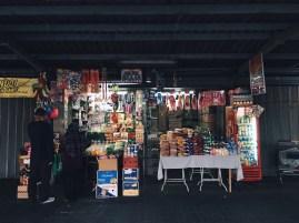 A typical street vendor
