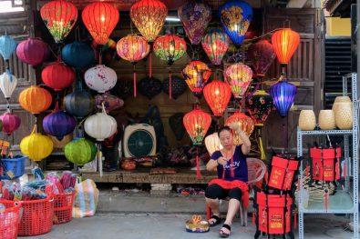 Lanterns shop