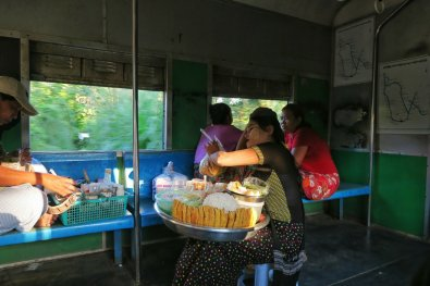 Woman selling noodles