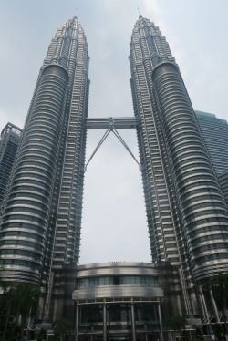 Petronas Towers during day