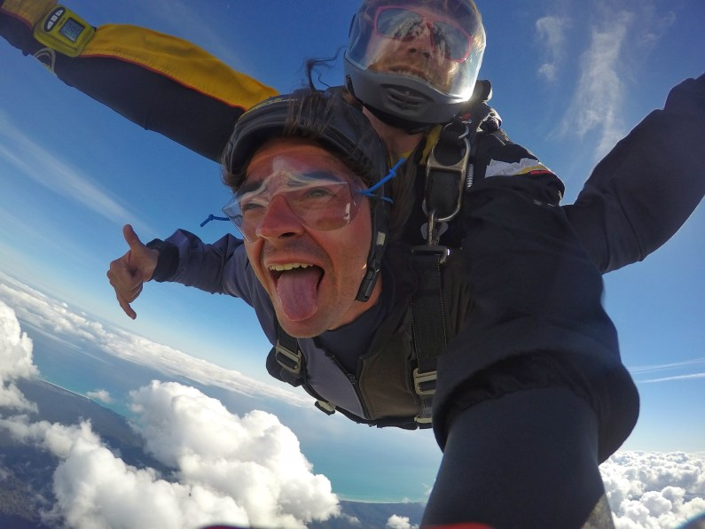 Skydiving in New Zealand
