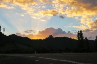 Sunset in Coromandel