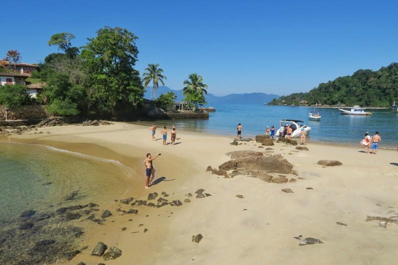 Beach near Ilha Grande