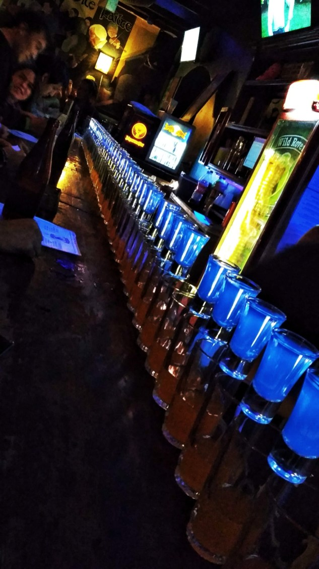 100 shots at Wild Rover