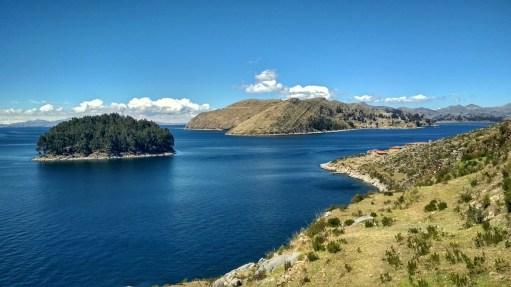 Islands on lake Titikaka
