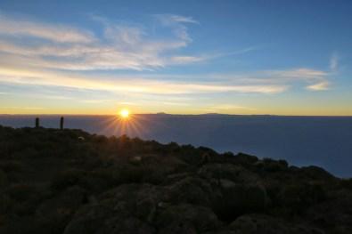 Sunrise in Uyuni
