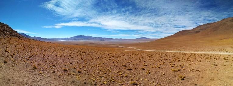 Just dry desert