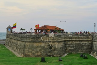 The walls of Cartagena