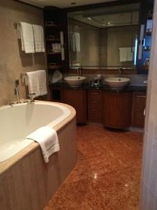 Disney Fantasy Concierge Cabin 12006 bathroom