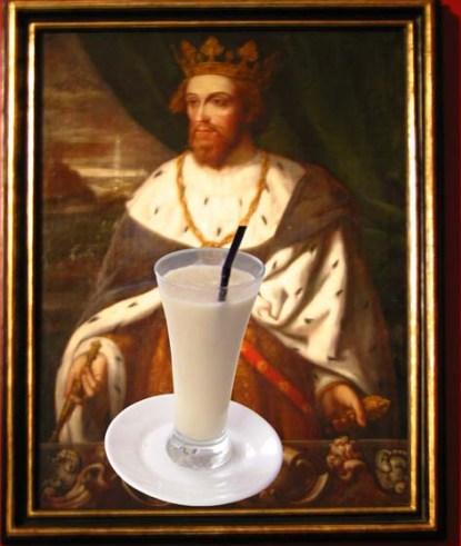 Jaume I desde su primer encuentro en el campo de batalla con la horchata, se convirtió en adicto a la bebida de chufa