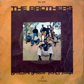 Portada del disco - The Brothers - Funky Paella.
