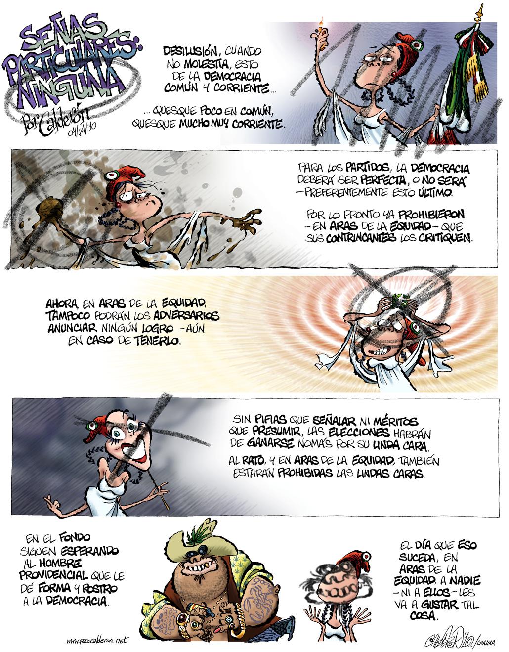 Señas particulares: Ninguna - Calderón