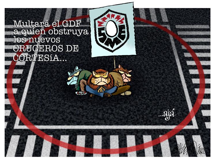 ... ajá. - Calderón