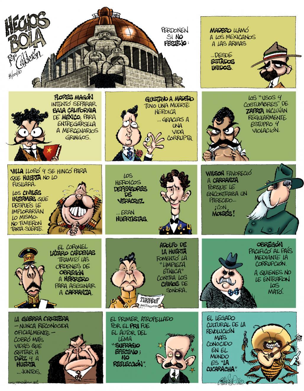 Hechos Bolas - Calderón