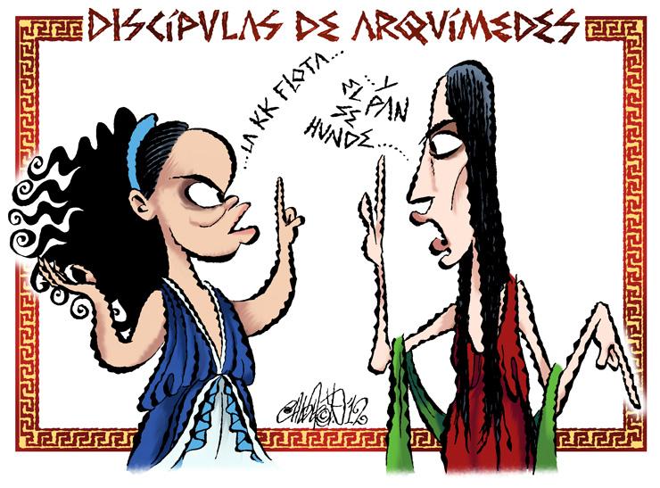 Discípulas de Arquímides - Calderón