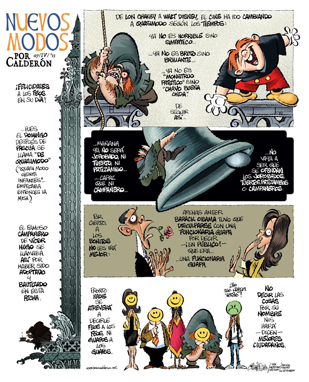 Nuevos modos... - Calderón