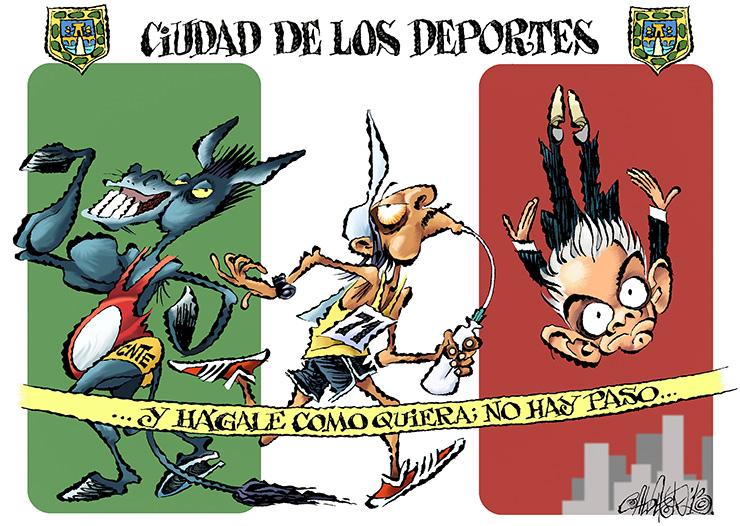 Ciudad de los Deportes - Calderón