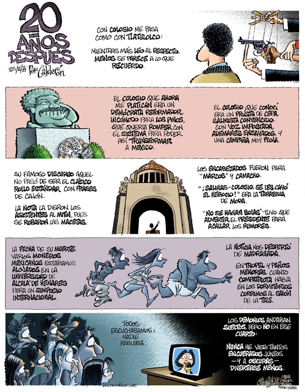 20 años después - Calderón