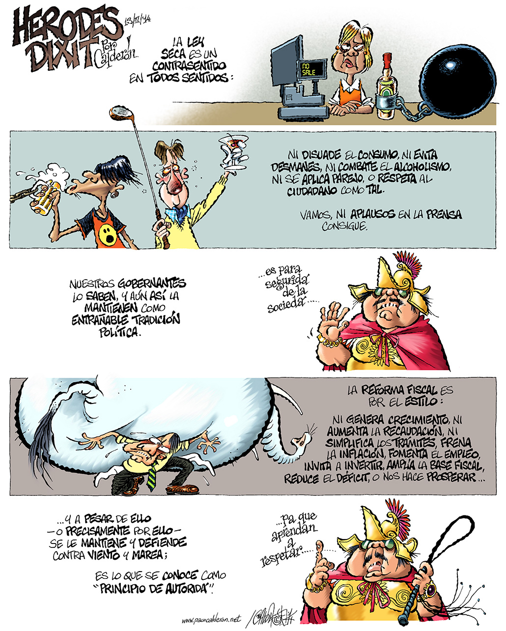 Herodes dixit - Calderón