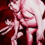 Herencia-Óleo-lienzo.-40-x-30-cms.-2009-Red