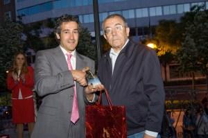Recojo el Premio de D. Luis Arroyo