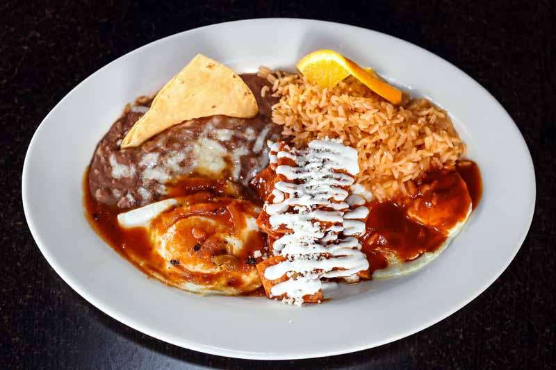 Mexican Restaurant Breakfast Menu